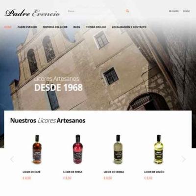 Web y tienda Online Padre Evencio