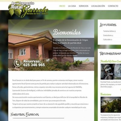 Web Rural Garrote, apartamento rural